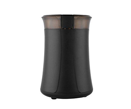 GXSCE Elektrische Kaffeemühle, kleine Kaffeemühle, Edelstahl Kaffeemühle, Espresso Kaffeebohne Grinder, einstellbare Salz Pfeffermühle Grinds Bohnen Gewürze gebürstet