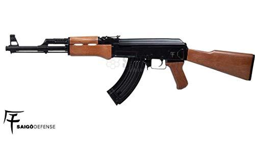 Saigo Rifle Airsoft AK47 AEG ABS/Electric (0.5 Joule) - Semi/Full Automatic