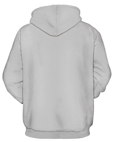 TDOLAH Damen Kapuzenpullover Hoodie 3D Druck Kartoon Sweatshirt Game Boy