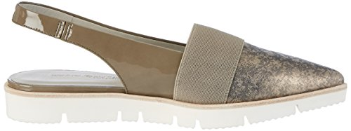 Kennel und Schmenger Damen Ono-11650 Slingback Gold (Pewter/Taupe Sohle Weiss)