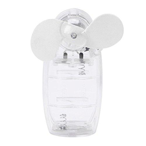 Manyo Tragbarer Mini-Lüfter, tragbar, tragbar, mit Handventilator, mit Kühlung, zufällige Lieferung
