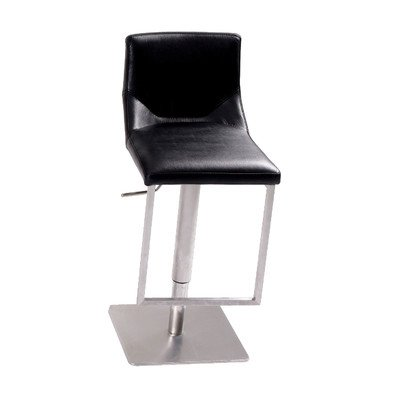 Tabouret de bar hauteur réglable Sting couleur (assise): Noir