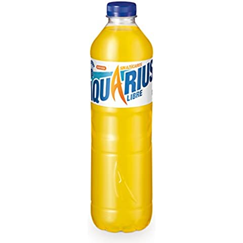 Aquarius Zero Botella Naranja refresco - 1,5 l