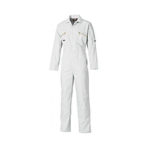 Dickies Wd4839, Tuta da Lavoro Uomo Bianco
