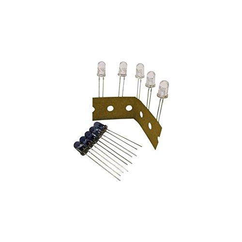 Kemo S081 LED-Sortiment 870 nm, 925 nm 5 mm radial bedrahtet