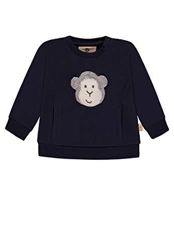 Bellybutton mother nature & me Baby-Jungen 1/1 Arm Sweatshirt, Blau (Navy Blazer|Blue 3105), 92