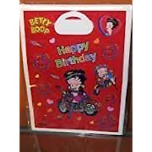 Betty Boop Happy Birthday Loot Bags