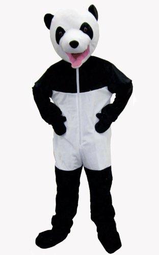 Dress Up America 591-T4 - Riesenpanda Kostüm, 3-4 Jahre, Taille 69 cm, Größe 97 cm, mehrfarbig