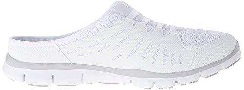 ... Skechers gratis-no limiti Fashion sneaker, nero bianco - bianco