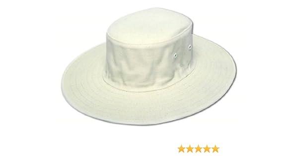 Albion Cricket Floppy Sun Hat Natural - XXL  Amazon.co.uk  Sports   Outdoors 74a10846d46