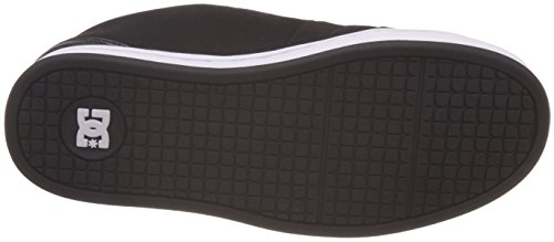 DC Shoes Net, Baskets Basses Homme Noir (Black/Black/White)