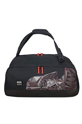 (American Tourister - Disney Grab'N'Go - Star Wars Backpack/Duffle Bag Gym Tote, 54 cm, 49 liters, Multicolour (Darth Vader Geometric))