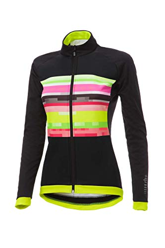 R/H Fashion Lab W Jacket, Fashion Lab Bike Jacket Damen, Damen, ICD0609 12PXS, Fashion Rainbow-Black, XS