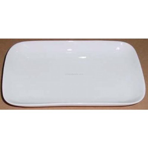 "Devnow Ceramics Rectangular Plate 8"" Long"