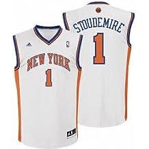 adidas New York Knicks de la NBA Baloncesto Jersey – Stoudemire # 1 Juventud X Grande
