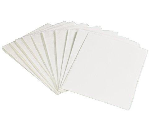 utilisation dans les toilettes publiques Gohygiene jetable papier WC couvertures papier hygi/énique chaque Lot Contient 10/housses de si/ège jetables 50 format de poche couvertures de 5/packs de voyage