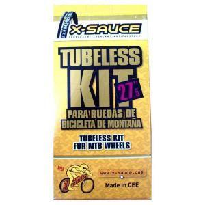 X-Sauce Kit conversor 27.5' TUBULESS 27,5, Ciclismo, Amarillo