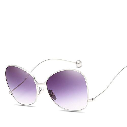 MJ Glasses Sonnenbrillen Personalisierter Stahlkugelfroschspiegel Koreanische Version der großen Schachtel, E