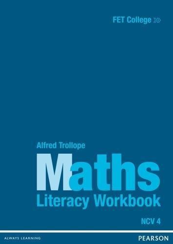 Mathematical Literacy : Level 4: Workbook (FET College Series) -