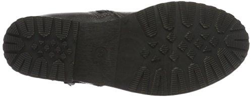 Marco Tozzi Cool Club 46402, Bottes Classiques Fille Gris (Black Ant.Comb 096)