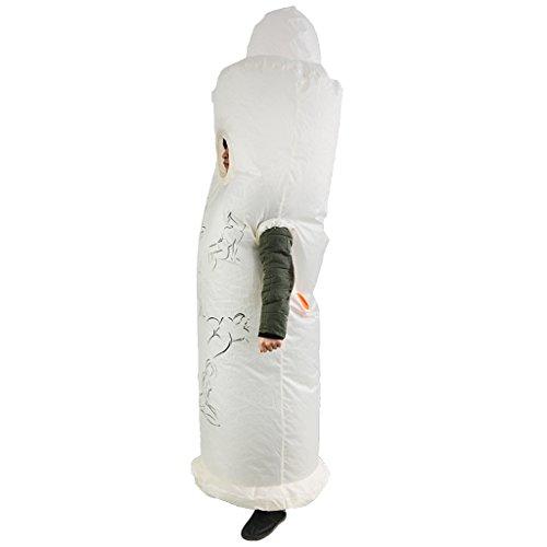 Sharplace Aufblasbares Erwachsenenkostüm Fatsuit Aufblasbares Anzug Blowup Kostüm, -