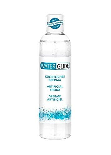 Gleitgel Waterglide, sehr hohe Gleitfreudigkeit, künstliches Sperma im Originallook, 300 ml