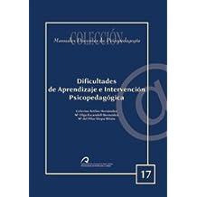 Dificultades del aprendizaje e intervención psicopedagógica (Manual docente de teleformación de Psicopedagogía)