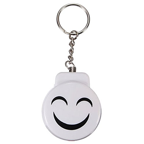 31uOntv9RoL. SS500  - Cute Emergency Self-Defence Electronic Personal Security Keychain Alarm - White