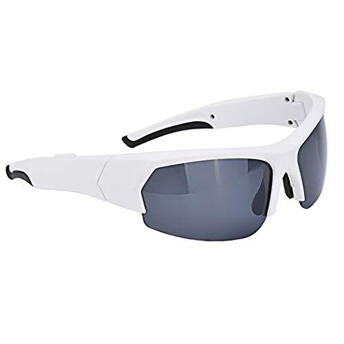 Im Freien Radfahren Sonnenbrille Intelligente Bluetooth Brillen, Stilvolle Drahtlose Abnutzung Glasses4.1 (Farbe : Weiß)