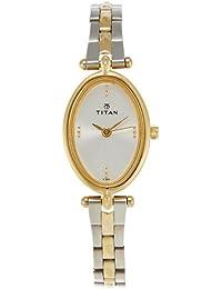 Titan Karishma Analog Silver Dial Women's Watch -NK2418BM01
