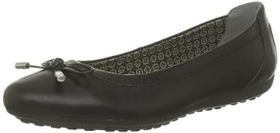 Geox D Piuma Ball H D34D8H43C9999, Ballerines femme, Noir (Black C9999), 35
