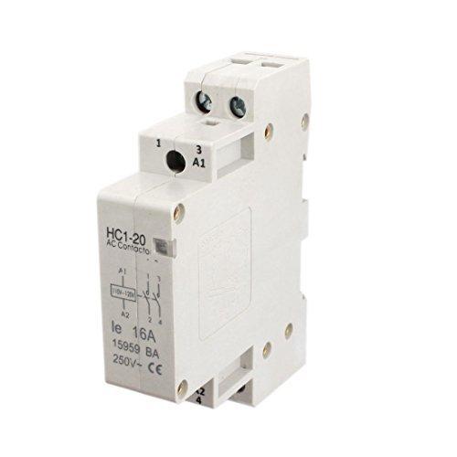 110-120V Coil Volt 16A Doppel Pole Electric Power AC Schütz-Block (120v Coil)