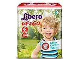 libero up&go pannolini taglia 6 (13-20 kg)