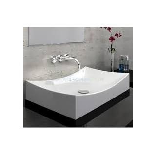 Art-of-Baan® - Design Aufsatzwaschbecken, Waschbecken 670 * 400 * 150 mm mit Lotus Effekt (5759A)