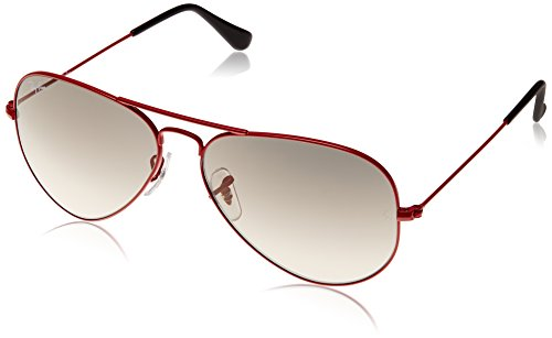 Ray-Ban Aviator Sunglasses (Red) (RB3025|031/3258)