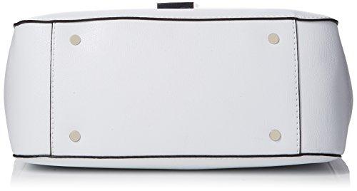 Guess Ray, Borsa a Mano Donna, 2x24x29 cm (W x H x L) Bianco