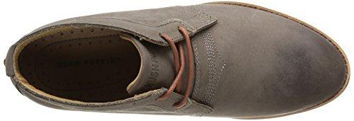 Hush Puppies Devon Hamlin, Chaussures de ville homme Gris (Grey Leather)