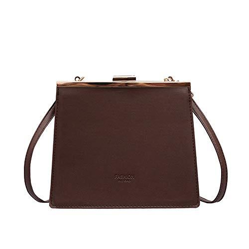 Tasche weiblich, Prise Tasche, atmosphärische Handtasche, Wilde Schulter Umhängetasche(A2;) -