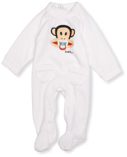 Paul Frank - PF8341W2White3 Months - Haut de pyjama Mixte Blanc