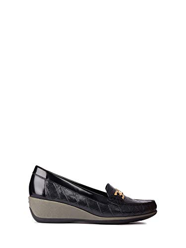 Geox D Elidia B, Mocassini Donna, Nero (BLACKC9999), 41 EU amazon shoes neri