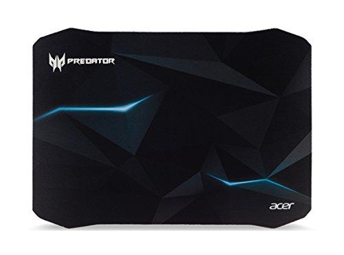 Predator Gaming Mauspad (Reibungsarme Faseroberfläche, selbstleuchtendes Predator Logo, Unterseite aus Naturkautschuk, leicht zu reinigen, Größe M, Spirits Design)