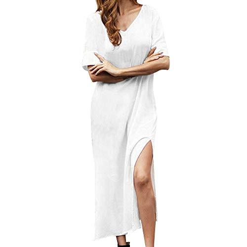 Damen Elegant Kleider Sommerkleid Retro Rockabilly Frauen Kleid Partykleid Cocktailkleid Ballkleid...