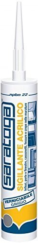 Saratoga ML.280 009375 Mastic acrylique Blanc