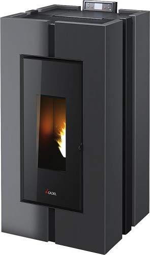 CADEL Doge³ Plus Pelletofen 10,5 kW Pellet Ofen Warmluftverteilung Doge-Anthrazit