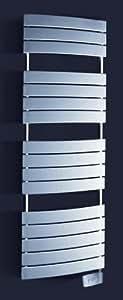 Voltman TACFCC082050FB Sèche serviette blanc Lames plates Velluto 500 W