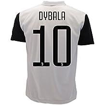 Camiseta Jersey Futbol Juventus Paulo Dybala 10 Replica Autorizado 2017-2018 Niños Adultos (Talla 8 Años)
