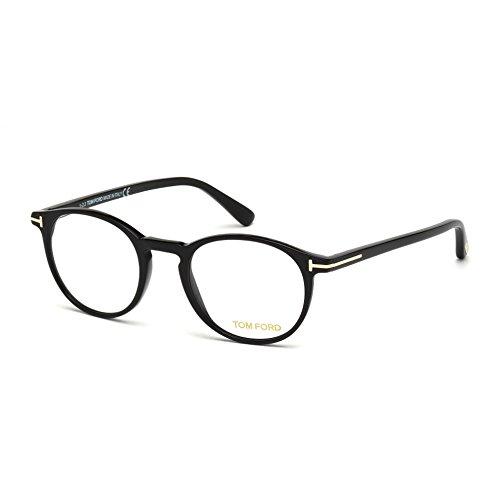 Occhiali da vista per uomo tom ford ft5294 001 - calibro 48