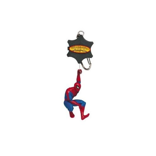 5cm Spider Sense SPIDER-MAN Keychain with web-climbing action (Web Triple Action)