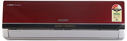 Voltas 123 Pya-r Premium Ya R Series Split Ac (1 Ton, 3 Star Rating, Red, Copper)