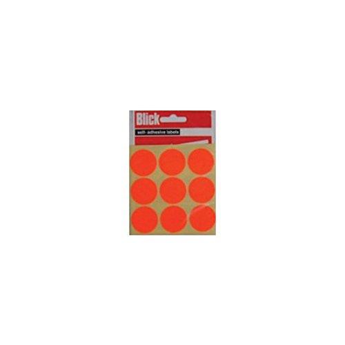 BLICK LABEL FLUO BAG 29MM RED P36 005155
